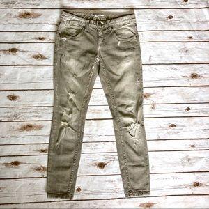 Free People Jeans - Free People Destroyed Skinny Jeans Meg's Denim